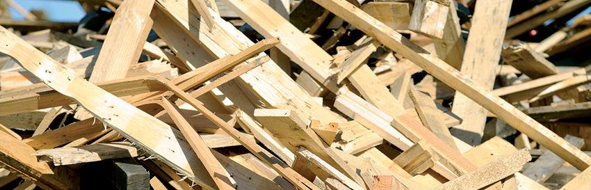 Palettes bois recyclage valorisation
