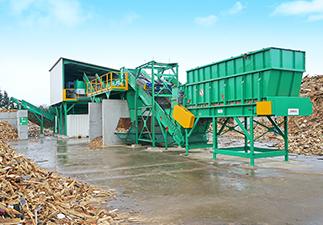 tri mécanisé bois recyclage valorisation