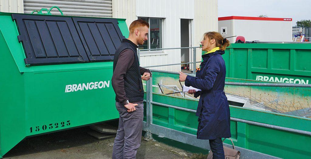 contenants gestion déchets brangeon recyclage