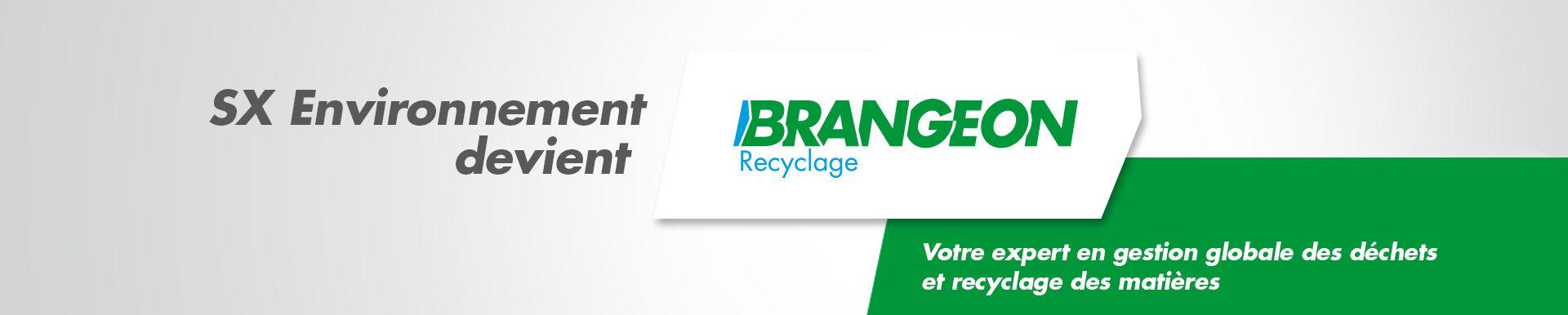 SX Environnement devient Brangeon Recyclage