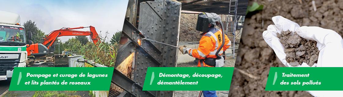 curage-lagune-démantèlement-sols-pollués-brangeon-recyclage