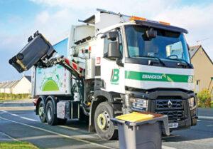 véhicule BOM benne à ordure ménagère - groupe brangeon