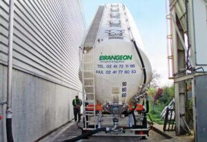 transport marchandises vrac solide - brangeon transports et logistique