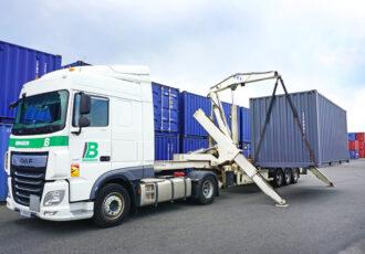 Sideloader brangeon transports et logistique